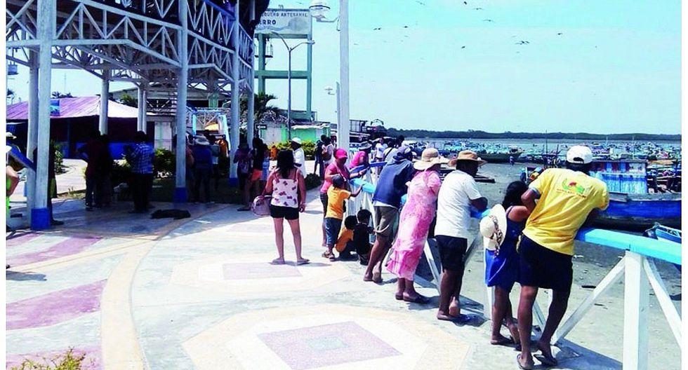 Tumbes: Inician trabajos en Puerto Pizarro