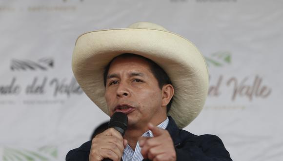 """Pedro Castillo dijo que """"más adelante"""" dirán quiénes conforman el gabinete de ministros. (Foto: GEC)"""