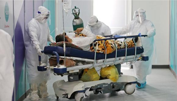 Minsa informó sobre cifra de pacientes hospitalizados por COVID-19.