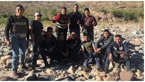 Policías atacados en operativo antidrogas son trasladados a Trujillo