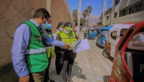 Operativos realizados por el área de Transportes/foto: Correo