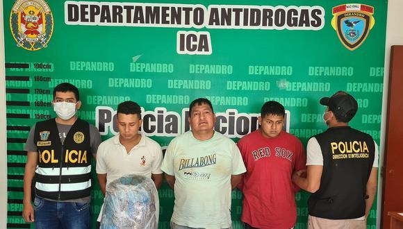 """Capturan a presunta banda """"Los maracuchos de Ica"""""""
