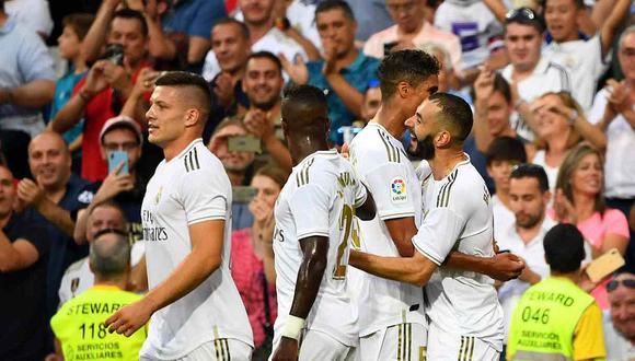 EN VIVO Real Madrid vs. Levante mañana por la Liga Santander