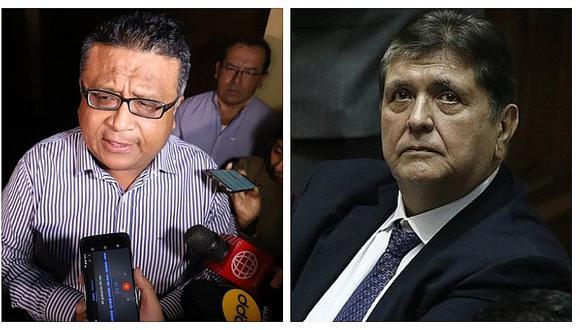 Casa de Alan García no puede ser incautada, según Erasmo Reyna
