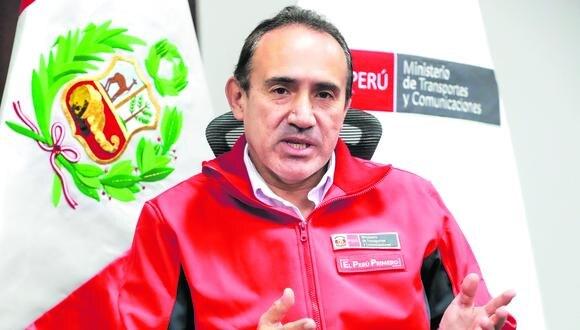 Carlos Estremadoyro, ministro de Transportes y Comunicaciones