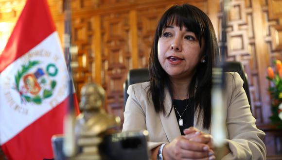 La presidenta del Congreso, Mirtha Vásquez, podría enfrentar nueva moción de censura.(Foto: Archivo GEC)