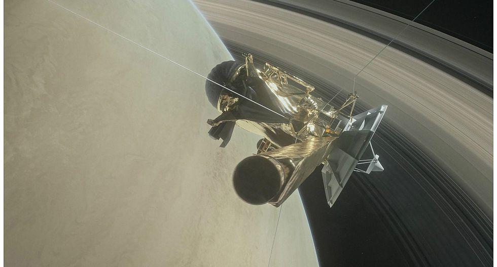 La sonda Cassini se sumerge en los anillos de Saturno