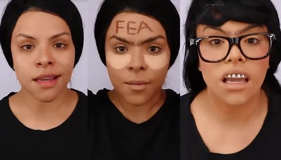 Josetty Hurtado se convierte en 'Betty la fea' (Instagram)