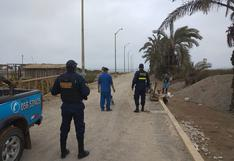 Arrojan desmonte a los humedales de Pisco playa