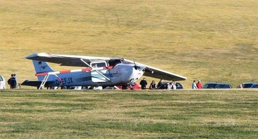 Reportan al menos tres muertos en accidente de avión en Alemania