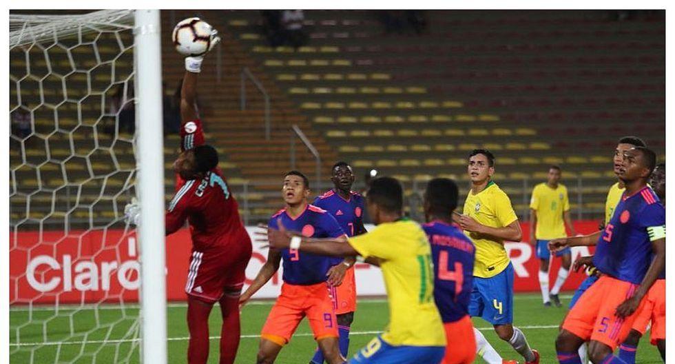 Sudamericano Sub 17: brasileño convirtió gol olímpico a Colombia (VIDEO)