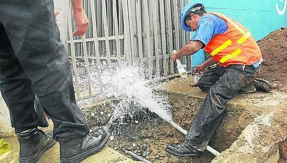 Sedapal pierde 28% de su facturación por tuberías rotas y redes clandestinas