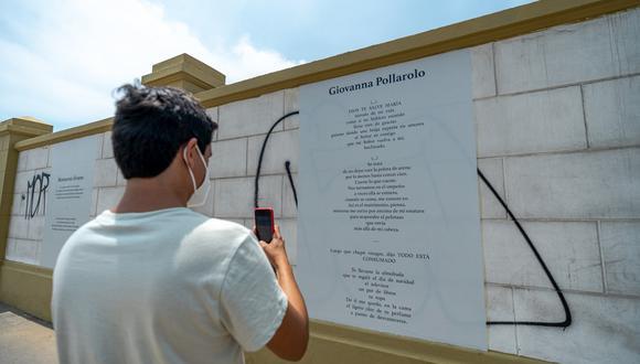 Exposición recopila los poemas de 36 autoras peruanas