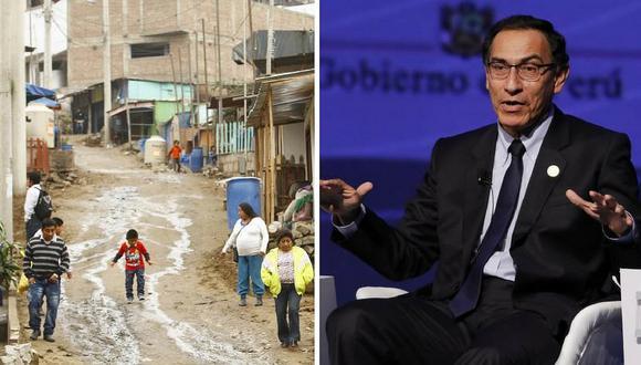 """Martín Vizcarra considera """"inaceptable"""" incremento de la pobreza en el 2017"""