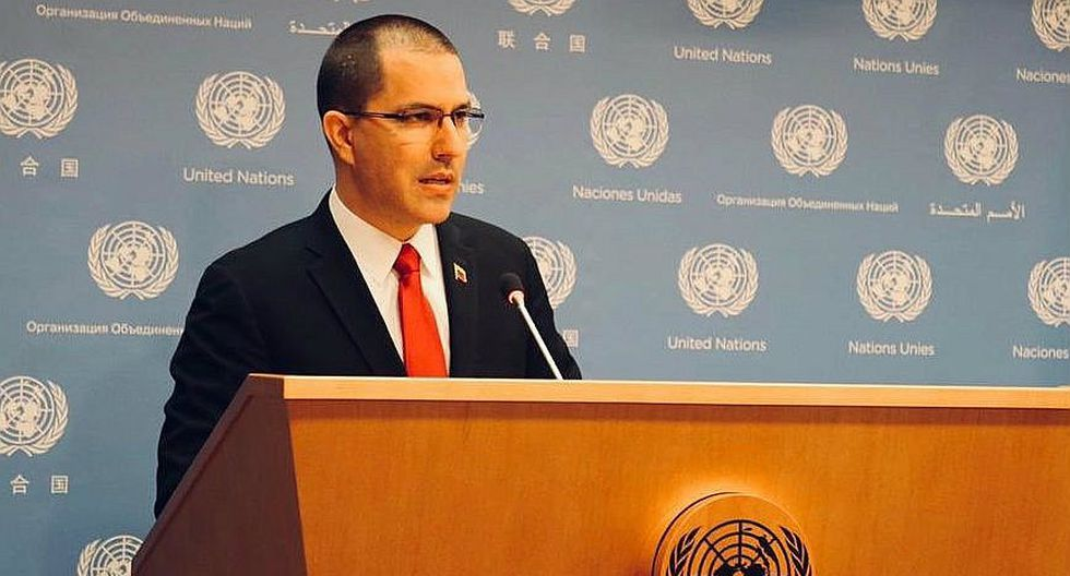 Canciller Jorge Arreaza denuncia ante secretario de la ONU golpe de Estado en Venezuela