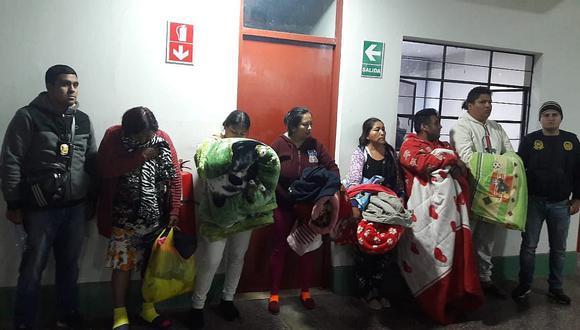 """Capturan a clan familiar """"Los Chipana"""" por venta y abastecimiento de drogas"""