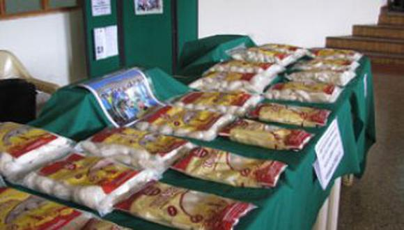 4 toneladas de tunta se exporta a Bolivia