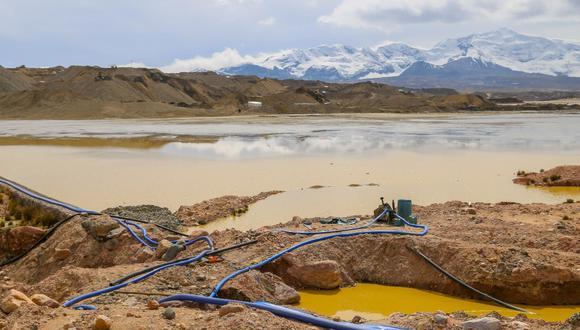 La contaminación es a consecuencia de la minería ilegal e informal en el distrito de Ananea. (Difusión)
