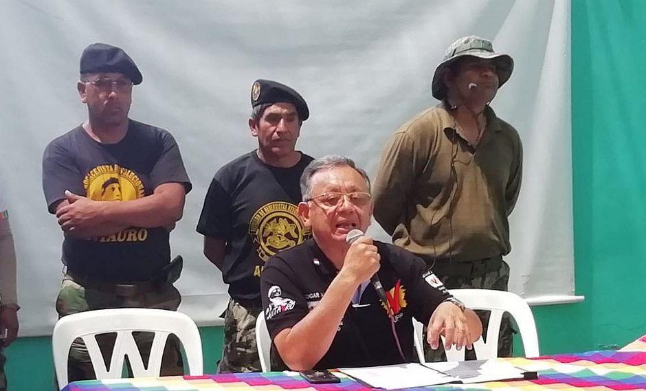 """Excontralor y congresista electo Edgar Alarcón reconoce efecto """"Antauro"""" en elecciones"""