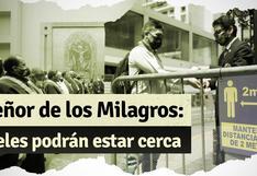 Señor de los Milagros: devotos podrán visitar al Cristo de Pachacamilla en la iglesia Las Nazarenas