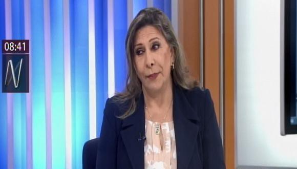 Zenaida Solís (Foto: Captura Canal N)