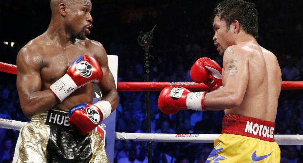 Floyd Mayweather tilda de cobarde a Manny Pacquiao y le niega revancha