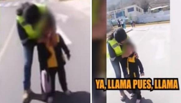 Arequipa: Mujer golpeó a su hija de tres años porque le pidió un helado (VIDEO)