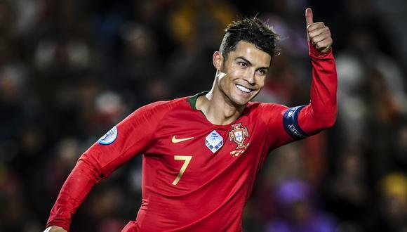 Cristiano lleva actualmente 101 goles con Portugal. (Foto: AFP)