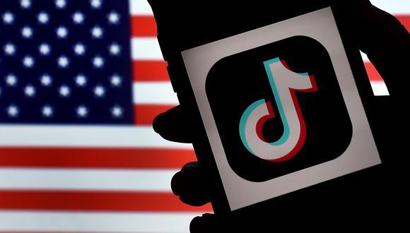 El futuro de la popular aplicación está en el aire en Estados Unidos, después de que esta semana el presidente, Donald Trump, firmara una orden ejecutiva con la que prohíbe cualquier transacción o negocio con ByteDance a partir de 45 días. (AFP / Olivier DOULIERY).