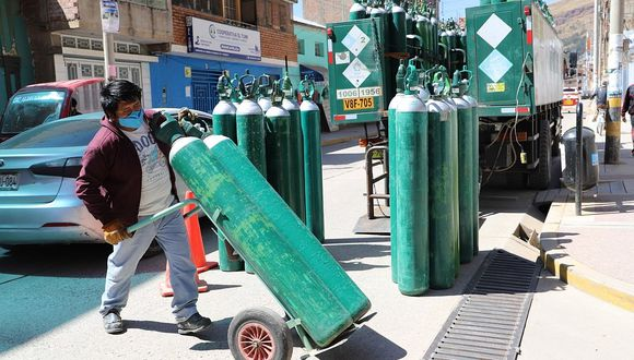 Huancavelica compra 600 metros cúbicos de oxígeno