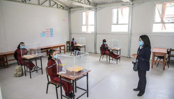 La Asociación de Colegios Privados de Lima informó que solo el 1% de centros educativos del país tienen infraestructura adecuada para aplicar el piloto de retorno a clases semipresenciales. (Foto referencial: Andina)