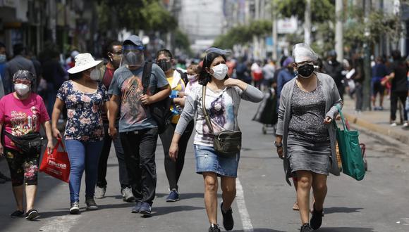 El Minsa actualizó cifras de decesos y contagios por COVID-19. (Foto : Jorge Cerdán / @photo.gec)