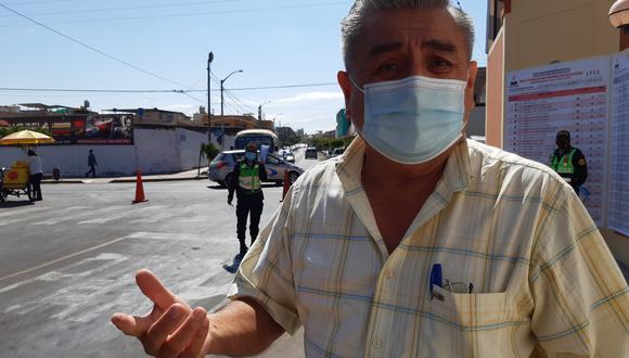 Director ejecutivo de epidemiología de la Dirección Regional de Salud en Tacna, Edgar Tejada Vásquez. (Foto: Correo)
