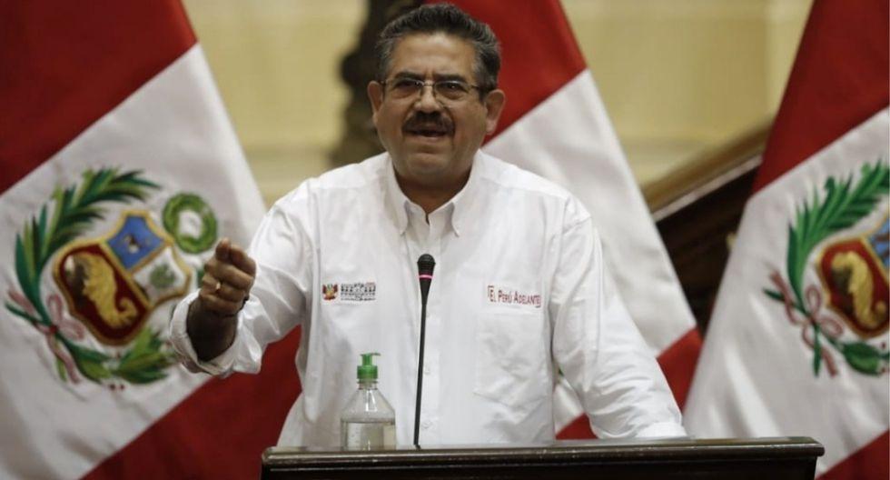 Manuel Merino afirmó que no puede avalar ninguna iniciativa legislativa, así sea de Acción Popular. (Foto: GEC)