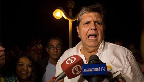 Gobierno de Uruguay niega pedido de asilo de Alan García
