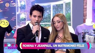 """Jean Paul Santa María y Romina Gachoy: """"Queremos vivir en paz, vivir tranquilos"""""""