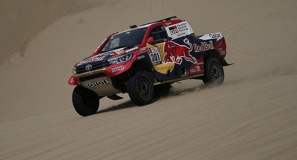 Dakar 2018: Nasser Al-Attiyah gana en autos, pero no llega al liderato