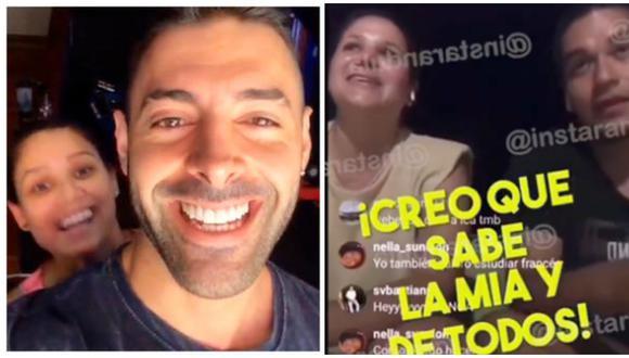 Hermana de Andrea San Martín se pronuncia sobre posible reconciliación con Sebastián Lizarzaburu. (Fotos: Instagram)