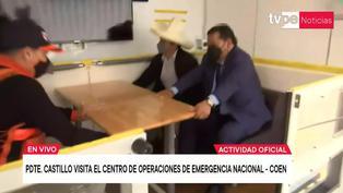 Pedro Castillo: así fue su reacción ante fuerte terremoto en simulador (VIDEO)