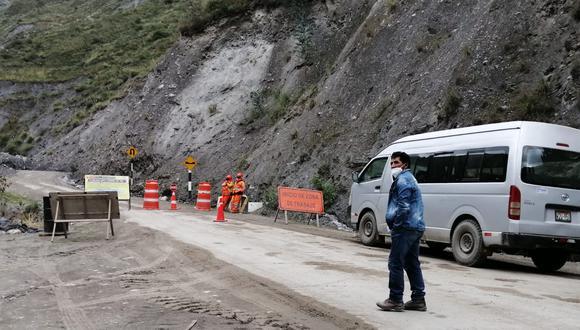 Ejecución de la carretera en la mira de Contraloría/foto:Isaías Puente