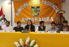 Instalarán plan piloto para potenciar la actividad agrícola y productiva de Antabamba