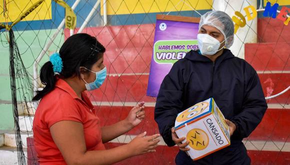 Huánuco: realizan campaña de salud mental debido a la pandemia del COVID-19 (Foto: Gore Huánuco)