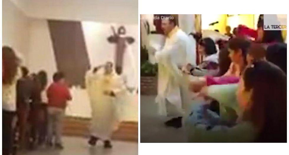 """Facebook: cura canta """"Despacito"""" en versión cristiana durante misa y feligreses """"enloquecen"""" (VIDEO)"""
