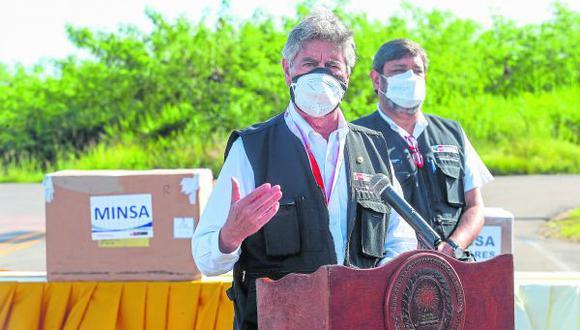 El mandatario Francisco Sagasti llegaría el viernes con el primer lote de vacunas. Se inmunizará en 180 puntos de vacunación.