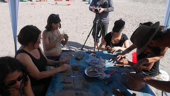 Desalojan a artistas que preparaban trabajos cerca a la frontera chilena