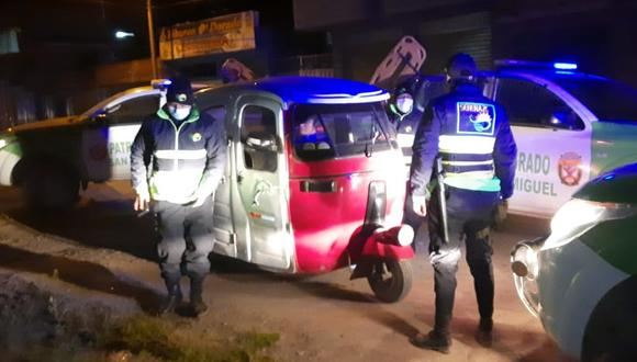 Los implicados fueron detenidos en la esquina El Triunfo con jirón Orizabal. (Foto: Difusión)