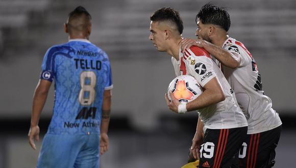 Binacional sufrió humillante derrota de 8-0 con River Plate en Buenos Aires (Foto: AFP)