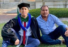 Erick Martínez, el hijo de campesinos mexicanos que superó las adversidades y se graduó en Harvard con honores