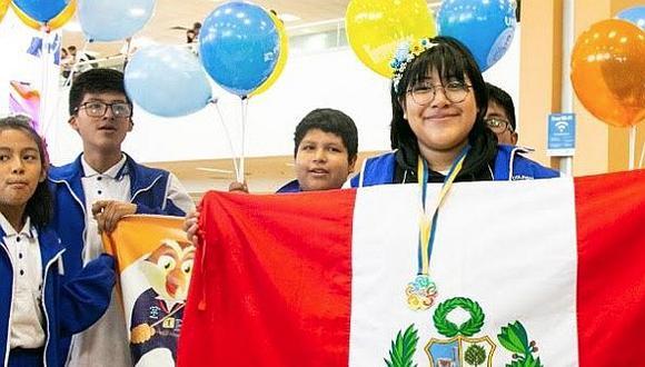 Alkeza Salazar ha representado por tres años consecutivos al Perú en Olimpiadas de Matemáticas