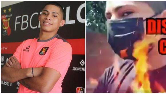 Kevin Quevedo agrede a reportero de 'Amor y Fuego' tras ser 'ampayado' en fiesta covid. (Foto: GEC / Willax TV)